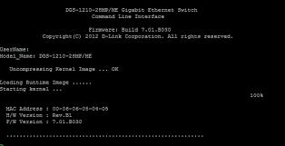 DGS-1210ME Series CLI Guide