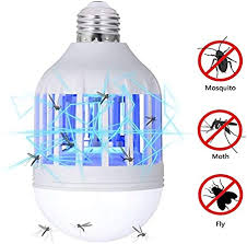 GLOUE <b>Bug Zapper</b> Light Bulb, 2 in 1 <b>Mosquito Killer</b> Lamp UV <b>Led</b>