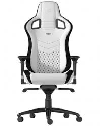 <b>Кресло игровое Noblechairs</b> EPIC (NBL-PU-WHT-001), White black ...