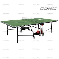 Уличный <b>теннисный стол Donic Outdoor</b> Roller 400 - зеленый