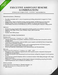 administrative assistant resume sample   resume geniuscombination resume for an executive assistant