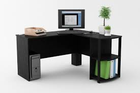 black desks for home office interior fascinating ideas of diy l shaped desk l shaped corner black office desks
