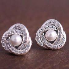 Pearl <b>Knot Fashion Earrings</b> for sale | eBay