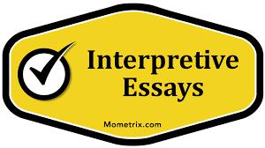 interpretive essays