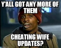 Man Uses Reddit to Live Blog Wife Cheating | POPSUGAR Love & Sex via Relatably.com