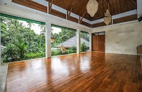 Villa Tanah Shanti yoga and other activities space