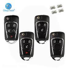OkeyTech 433Mhz ID46 Chip <b>Flip</b> Folding Remote Control Key for ...