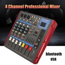 Караоке <b>микшер</b> 4 канала bluetooth USB Студия аудио <b>DJ</b> ...