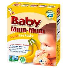 Hot Kid, <b>Baby Mum</b>-<b>Mum</b>, оригинальные <b>бананово</b>-<b>рисовые</b> галеты