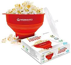 Collapsible Silicone Microwave Hot Air Popcorn ... - Amazon.com