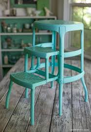 DIY Upcycled <b>Vintage</b> Step <b>Stool</b>
