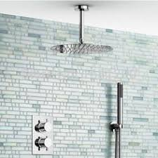 thermostatic brand bathroom: wholesale cheap online brand find best ceiling mount round  inch massage shower head thermostatic shower sets free shipping at discount prices from