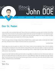 modern cover letter resume cv template stock vector art  1 credit
