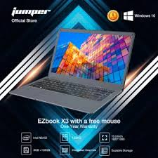 <b>Jumper EZbook X3 Air</b> 8G 128G Laptop - 13.3 Inch IPS Screen 178 ...