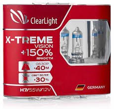 <b>Лампа автомобильная</b> галогенная <b>Clearlight H11</b> 12V-55W X ...