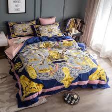 High End Cotton <b>Luxury</b> Royal Europe Italy <b>Baroque</b> Design Printed ...