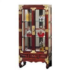 cheap oriental furniture asian glass display cabinet ofn1263 cheap oriental furniture