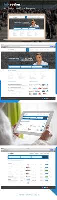 beste ideer om job portal sites p aring dashbord ui job seeker job portal template on behance