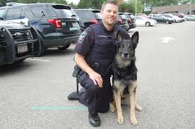 sun thisweek four legged cop will leave the work he loves echo his handler officer ben archambault is being retired from the burnsville