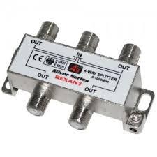 Купить <b>Делитель на 4 ТВ</b>/5-1000 мГц цена от 190 руб в ...