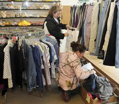 thrift store closings in skowhegan pittsfield spell end for skills inc thrift store manager donna grant prepares to stock clothing at the skowhagan organization on wednesday grant said the popular store will close