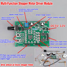 <b>DC 5V</b>-<b>12V 6V 2</b>-/4-<b>phase</b> Micro Stepper Motor Driver Speed ...