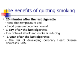 persuasive speech slices    improved personal appearance    the benefits of quitting smoking