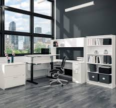 bestar l shape desk with hutch electric height adjustable table with digital control bestar embassy corner desk