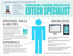 qualities of an edtech specialist professional personal professional personal qualities of an edtech specialist by davidleeedtech