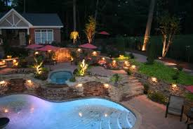 large size of exterior delightful landscape lighting ideas around pool with outdoor landscape lighting design beautiful lighting pool