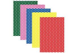 <b>Юнландия Картон цветной</b> А4 мелованный Горошек 5 листов 5 ...