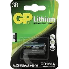 <b>Батарейка CR123A GP</b> CR123A 1 шт. — купить, цена и ...