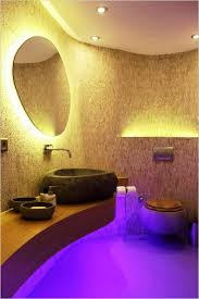 awesome bathroom lighting in yellow and violet awesome bathroom lighting bathroom