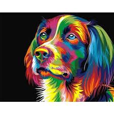 Diamond Painting Embroidery Cross Stitch Full Mosaic DIY Kit <b>Dog</b> ...
