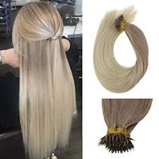 "Amazon.com : [<b>Hot Sale</b>] LaaVoo 14"" Nano Loops <b>Real</b> Human Hair ..."