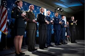 u s department of defense photo essay chairman presents jewish institute for national security affairs grateful nation awards