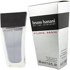 <b>Bruno Banani Pure</b> Man Eau de Toilette Natural Spray: Amazon.co ...