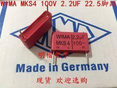 <b>2019 hot sale 10pcs/20pcs</b> Germany WIMA MKS4 100V 2.2UF 225 ...
