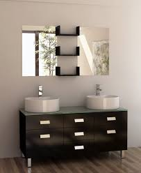 55 inch double sink bathroom vanity:  inch double sink vanity in espresso