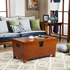 the new solid wood coffee table retro american country western style storage box blue green small teasideend american country style font