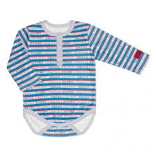 <b>Боди LUCKY CHILD</b> 64-5к для мальчиков, цвет <b>белый</b>/синий, рус ...