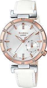 Наручные <b>часы Casio</b> Sheen <b>SHE</b>-<b>4051PGL</b>-<b>7A</b>