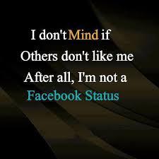 Cool Quotes For Facebook Status. QuotesGram via Relatably.com