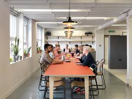 the airbnb office in london by threefold airbnb london office design