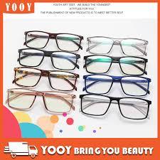 <b>New Square</b> Frame <b>Glasses Clear</b> Lens Fashion <b>Spectacles</b> ...
