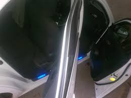 15. <b>Накладка на пороги с</b> LED вставками — Toyota Corolla, 1.6 л ...
