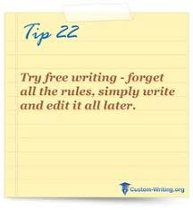 writing posts and motivate yourself on pinterest tip try free writing   forget all the rules simply write and edit it all later