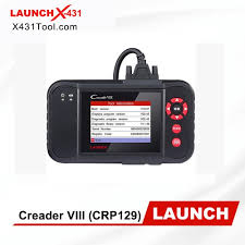 100% Original <b>Launch X431</b> Creader VIII (<b>CRP129</b>) 4 System ...