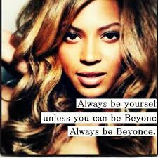 I try to be beyonce... It doesn't work out is well... Too bad ...