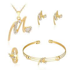 iLH Deals 4 Pcs Jewelry Sets Women Personality ... - Amazon.com